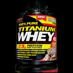 אבקת חלבון סאן  טיטניוםtitanium whey