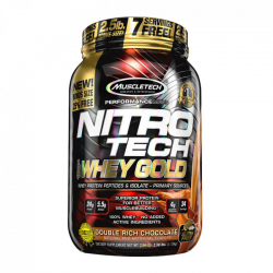 ניטרו טק מאסל טק | NITRO TECH WHEY GOLD